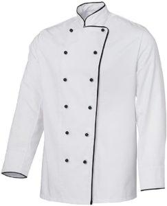 Grevotex Kochjacke weiß